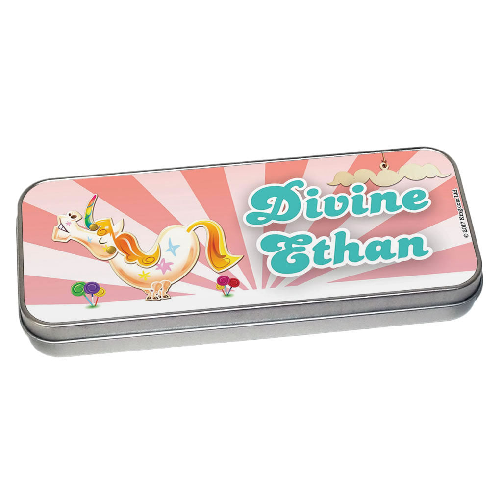 Misty The Unicorn Pencil Tin
