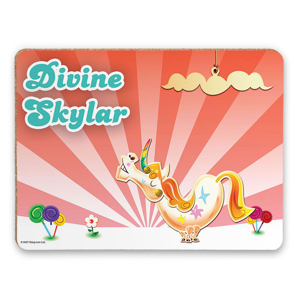 Misty The Unicorn Placemat