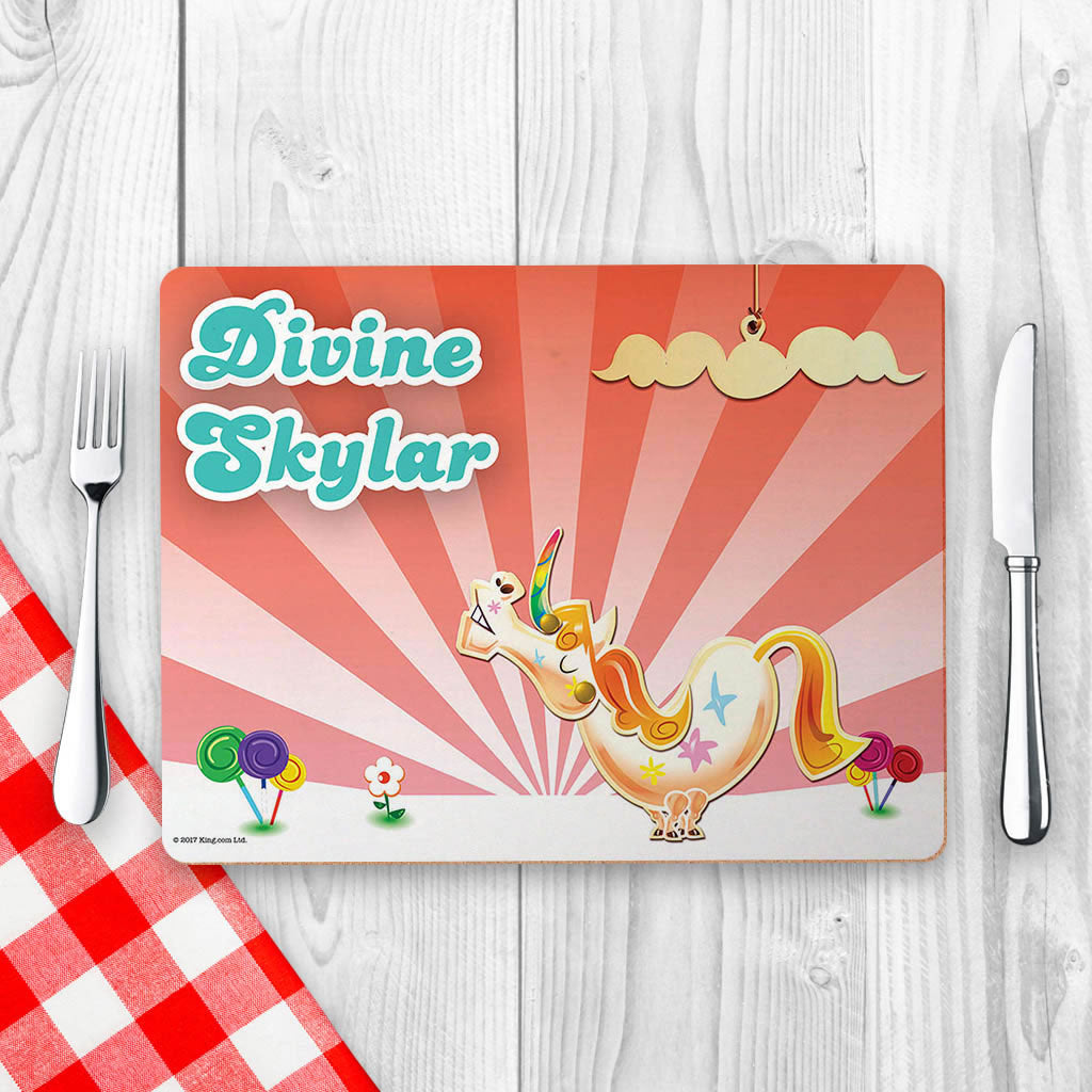 Misty The Unicorn Placemat (Lifestyle)