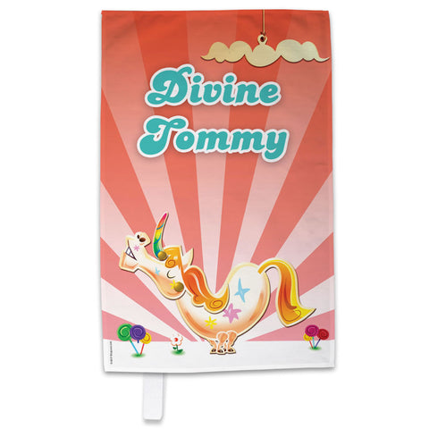Misty The Unicorn Tea Towel