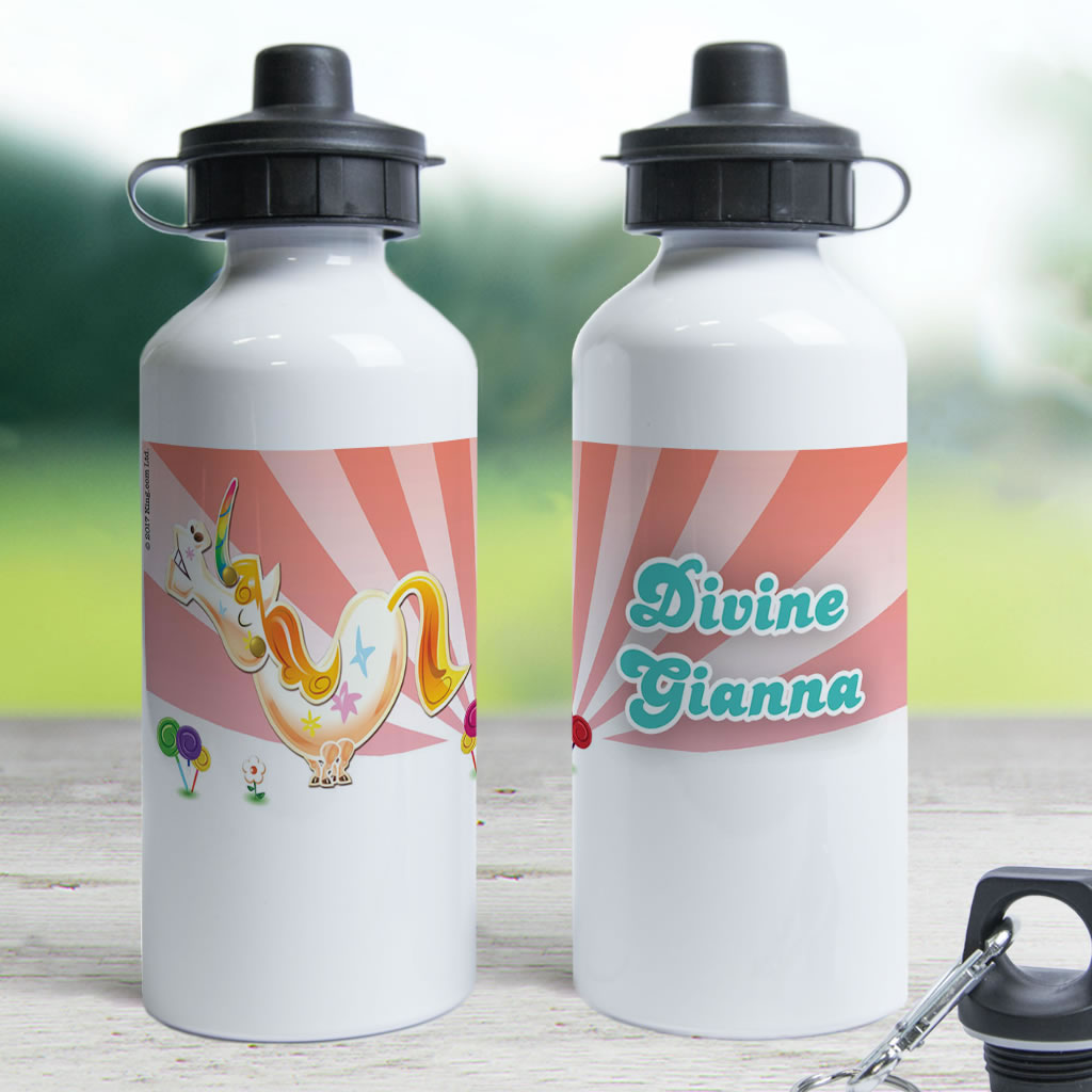 Misty The Unicorn Water Bottle (Lifestyle)