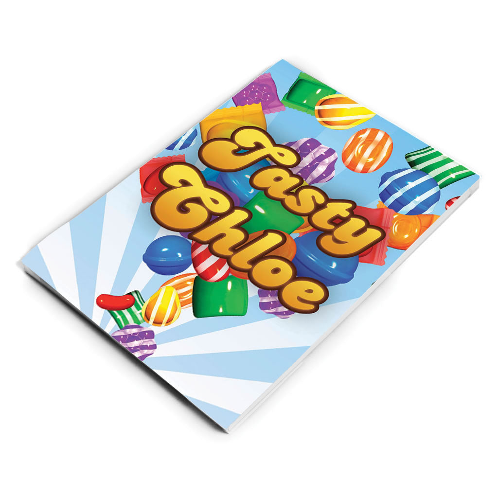 Falling candies Notepad