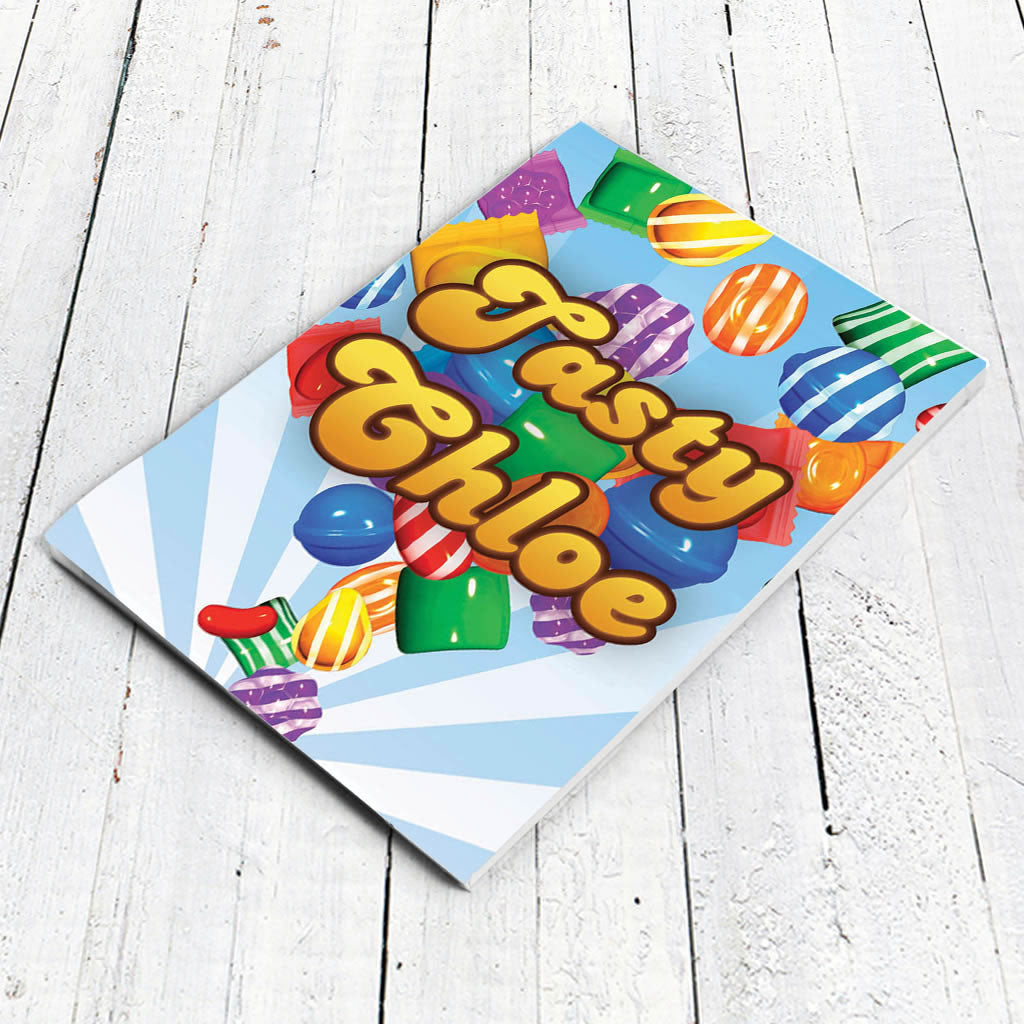Falling candies Notepad (Lifestyle)