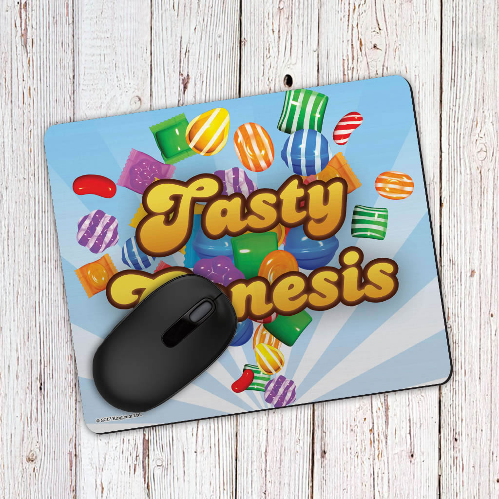 Falling candies Mouse Mat (Lifestyle)