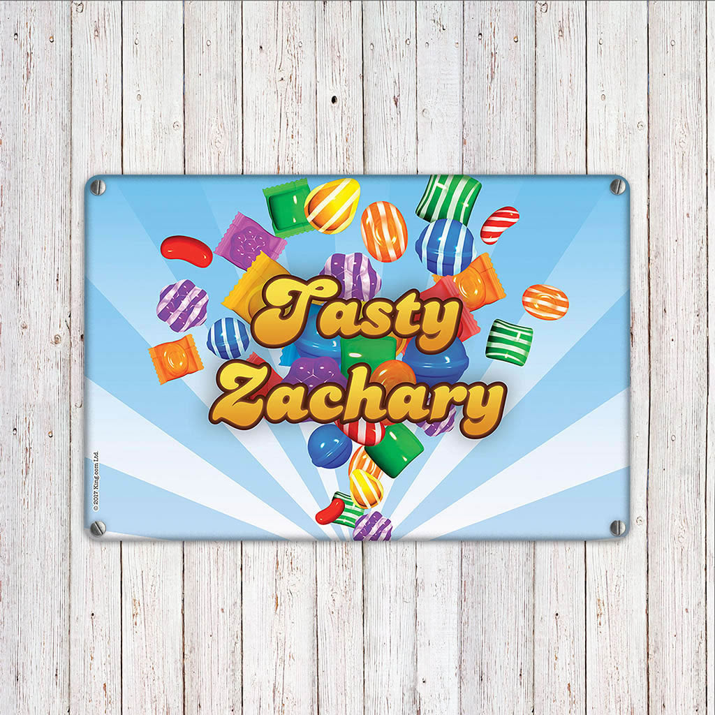 Falling candies Metal Sign (Lifestyle)