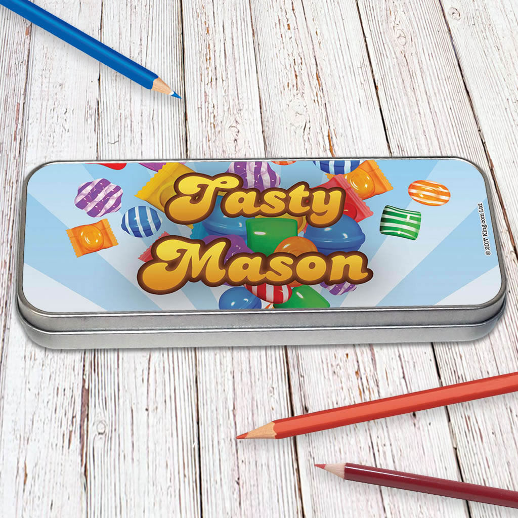 Falling candies Pencil Tin (Lifestyle)