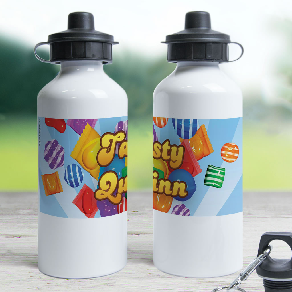 Falling candies Water Bottle (Lifestyle)