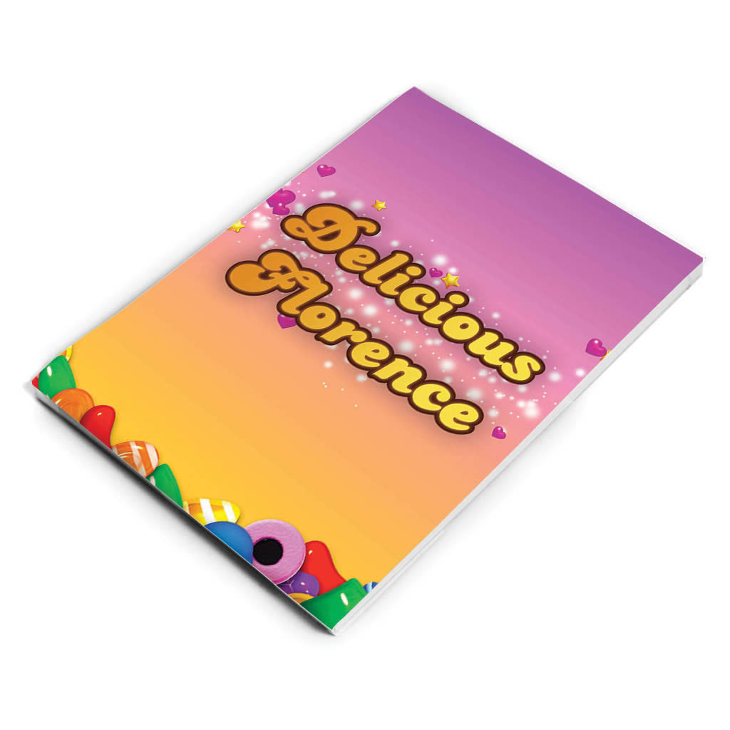 Candy Sparkle Notepad