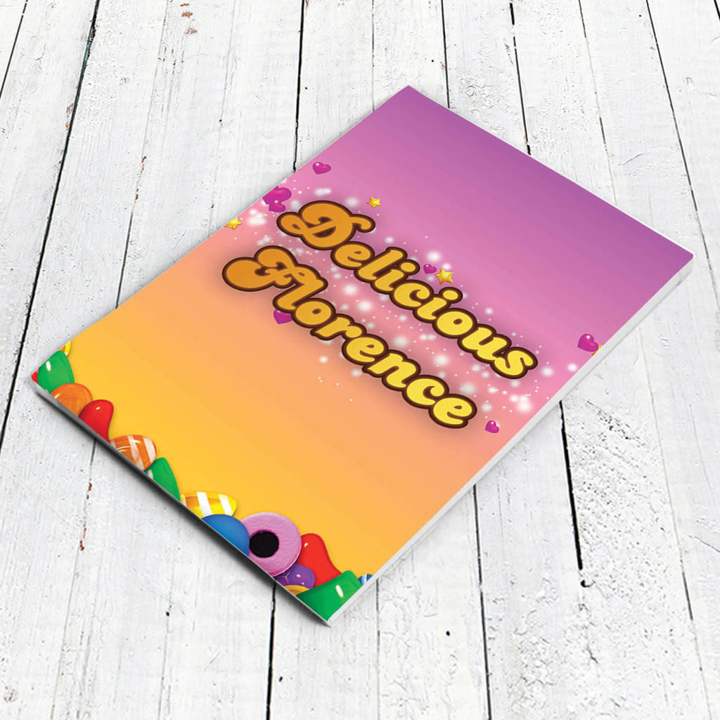 Candy Sparkle Notepad (Lifestyle)