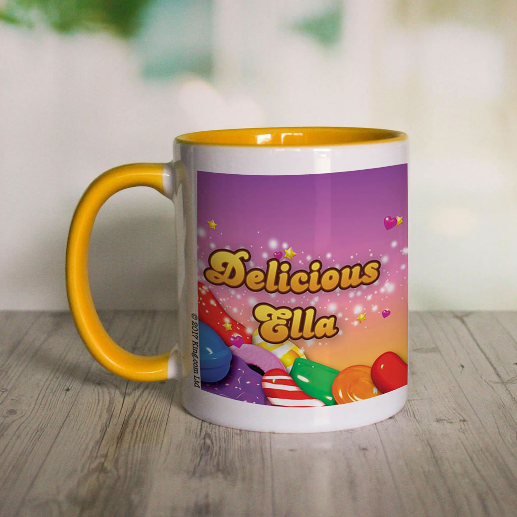 Candy Sparkle Coloured Insert Mug (Lifestyle Front)