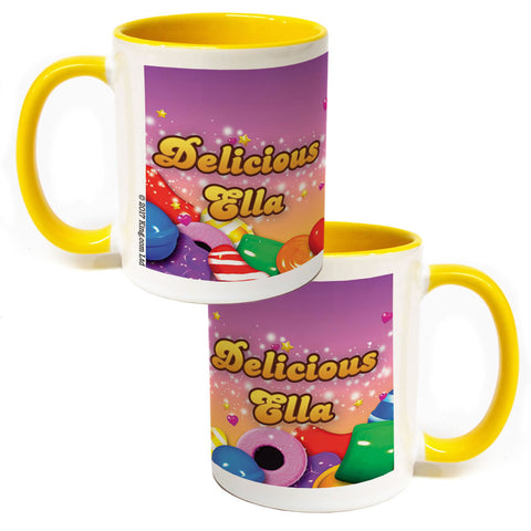 Candy Sparkle Coloured Insert Mug