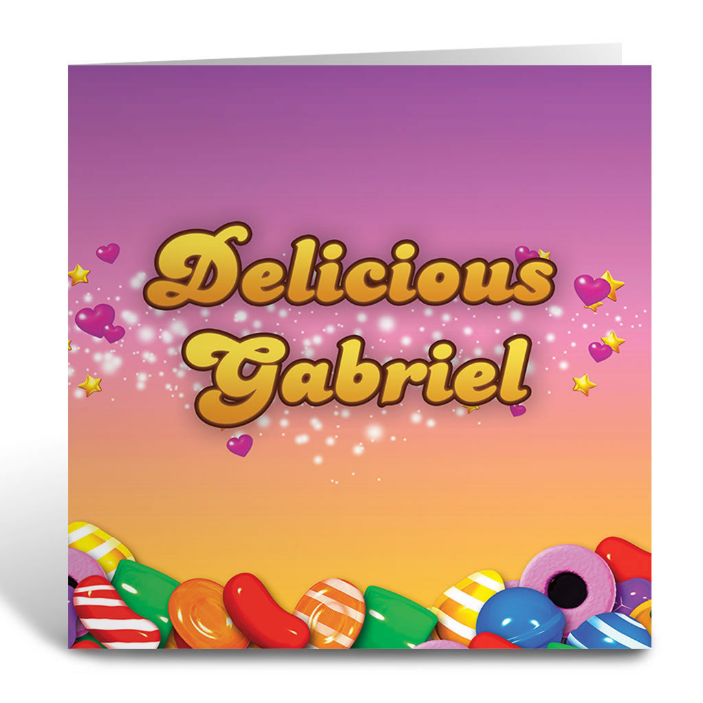 Candy Sparkle Greeting Card