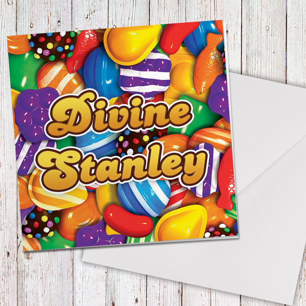 Candies Greeting Card (Lifestyle)