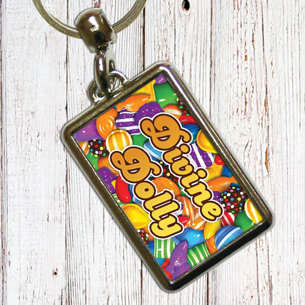 Candies Metal Keyring (Lifestyle)
