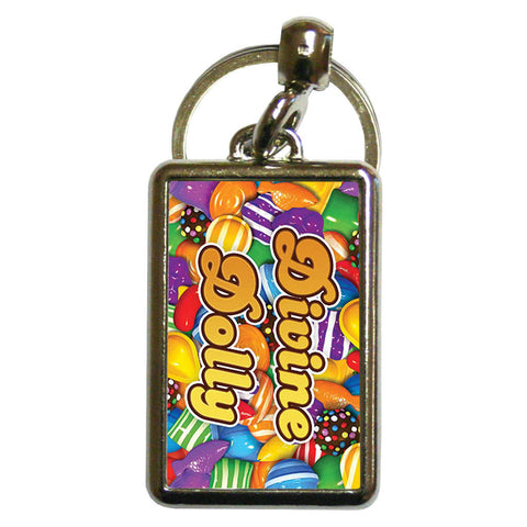Candies Metal Keyring