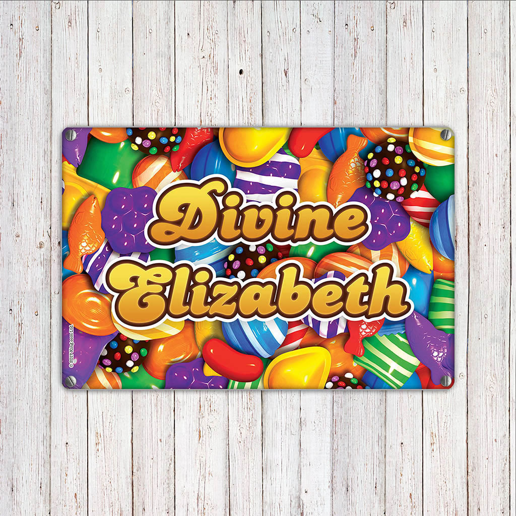Candies Metal Sign (Lifestyle)
