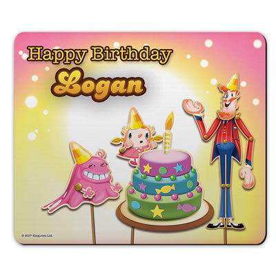 Happy Birthday Mouse Mat