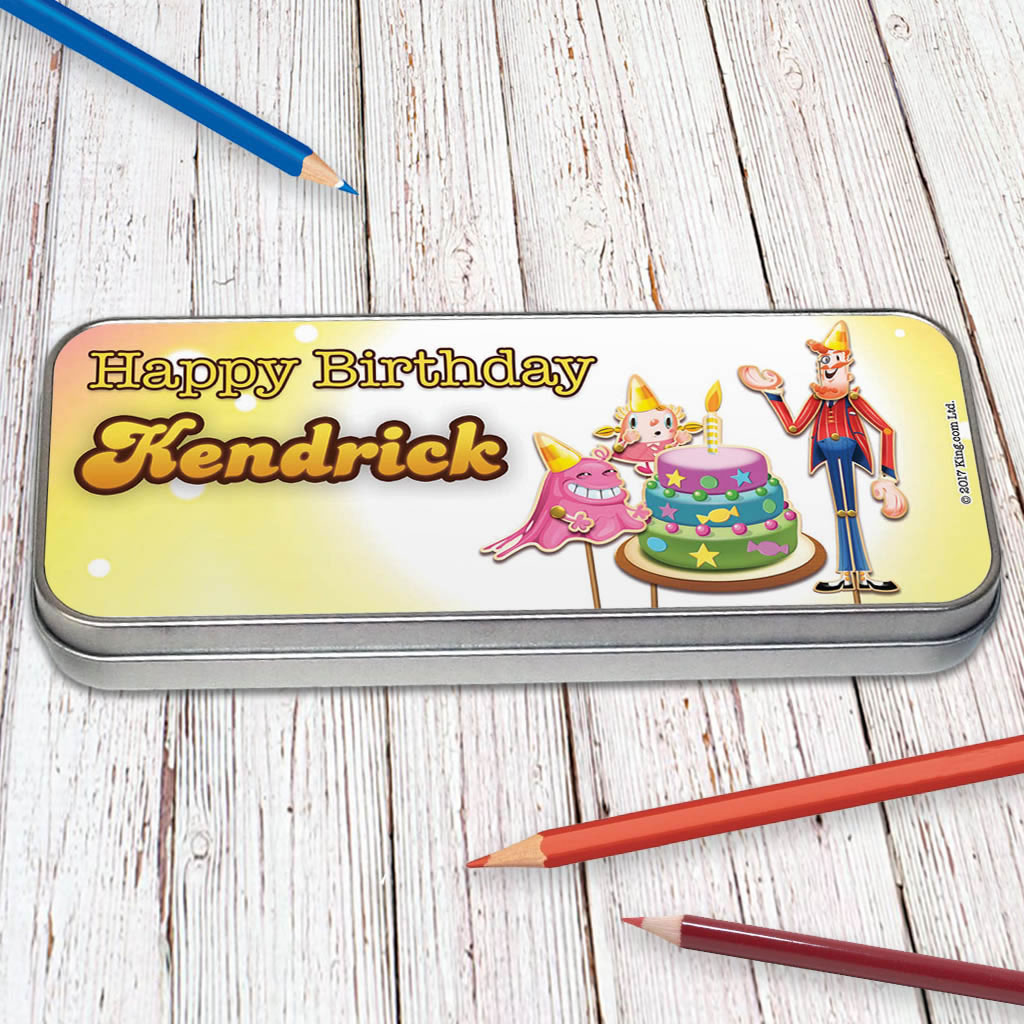 Happy Birthday Pencil Tin (Lifestyle)
