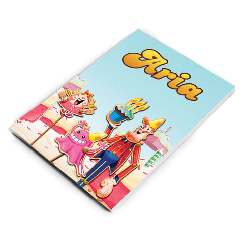Tiffi & Mr Toffee Cake Notepad