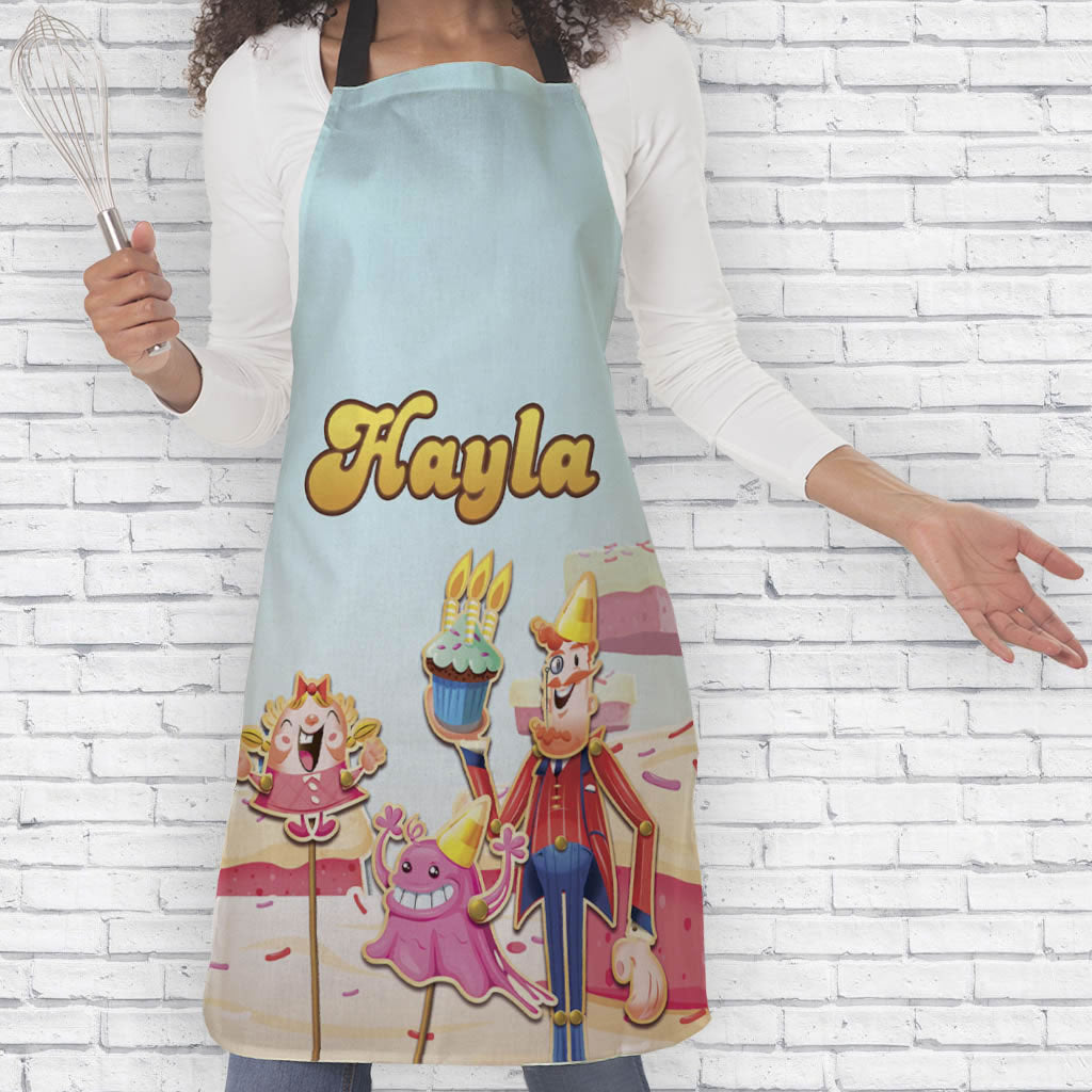 Tiffi & Mr Toffee Cake Apron (Lifestyle)