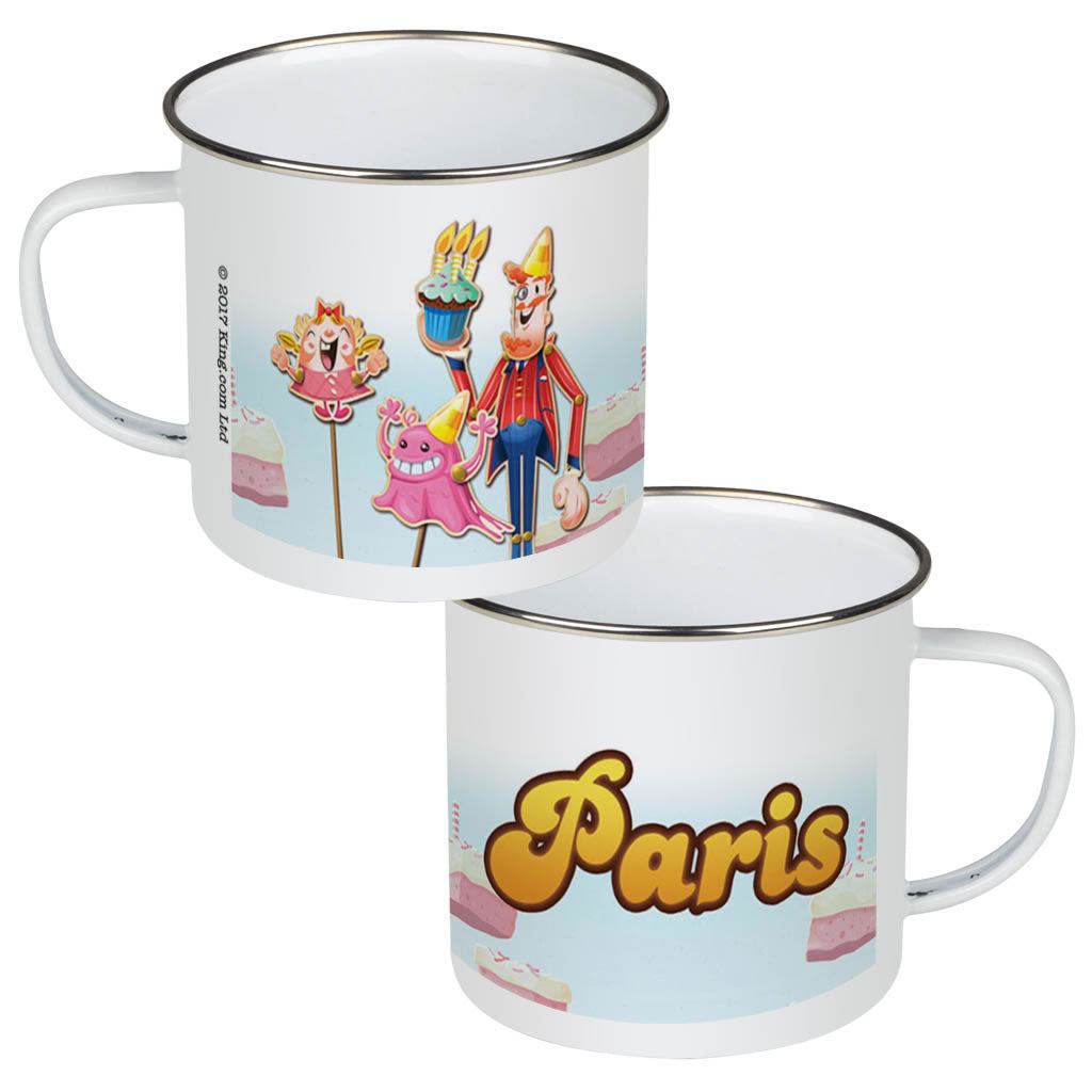 Tiffi & Mr Toffee Cake Enamel Mug