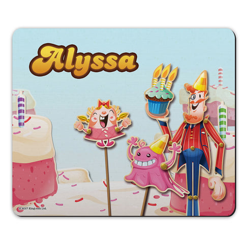 Tiffi & Mr Toffee Cake Mouse Mat