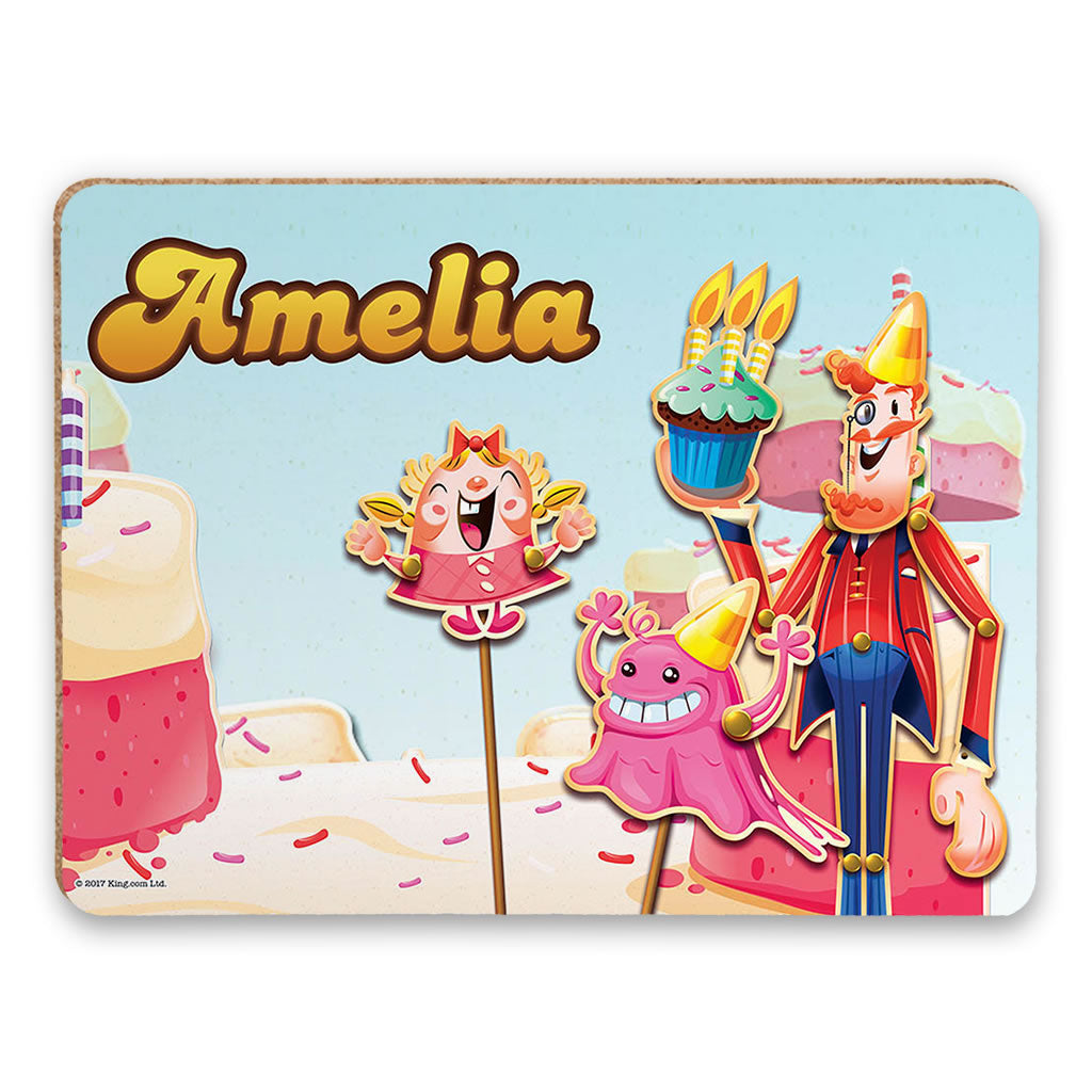 Tiffi & Mr Toffee Cake Placemat