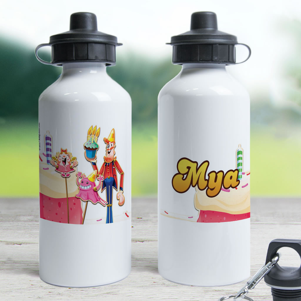 Tiffi & Mr Toffee Cake Water Bottle (Lifestyle)