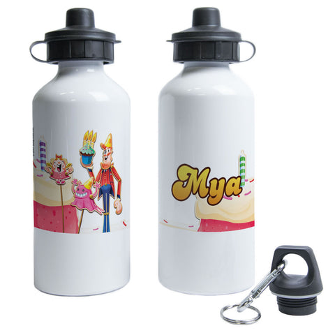 Tiffi & Mr Toffee Cake Water Bottle