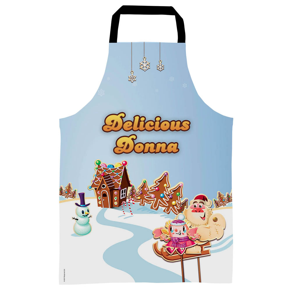 Merry Christmas Mr Yetti Apron