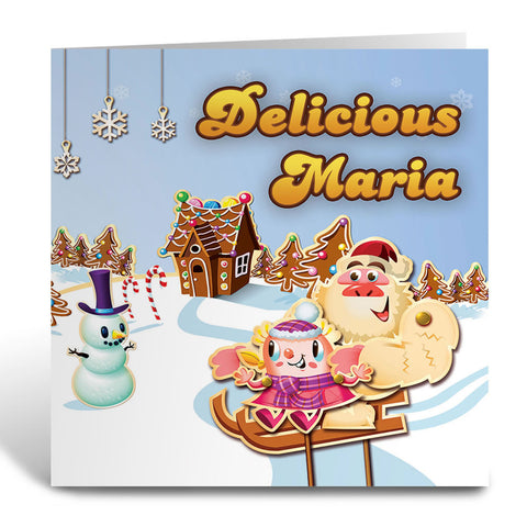 Merry Christmas Mr Yetti Greeting Card