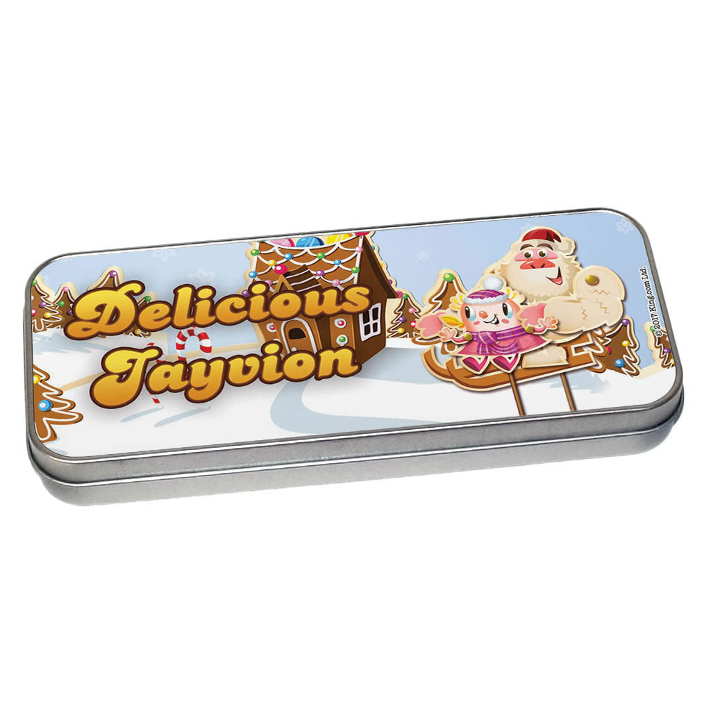 Merry Christmas Mr Yetti Pencil Tin
