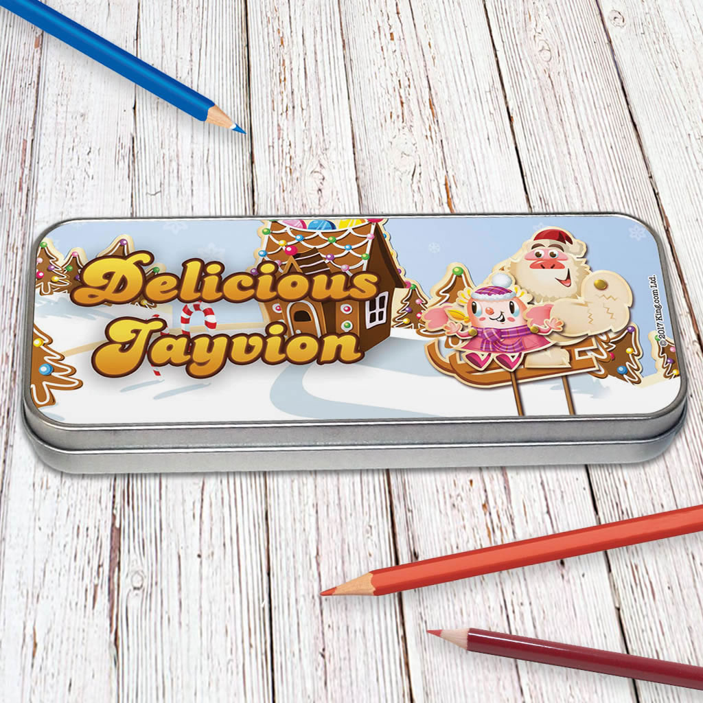 Merry Christmas Mr Yetti Pencil Tin (Lifestyle)