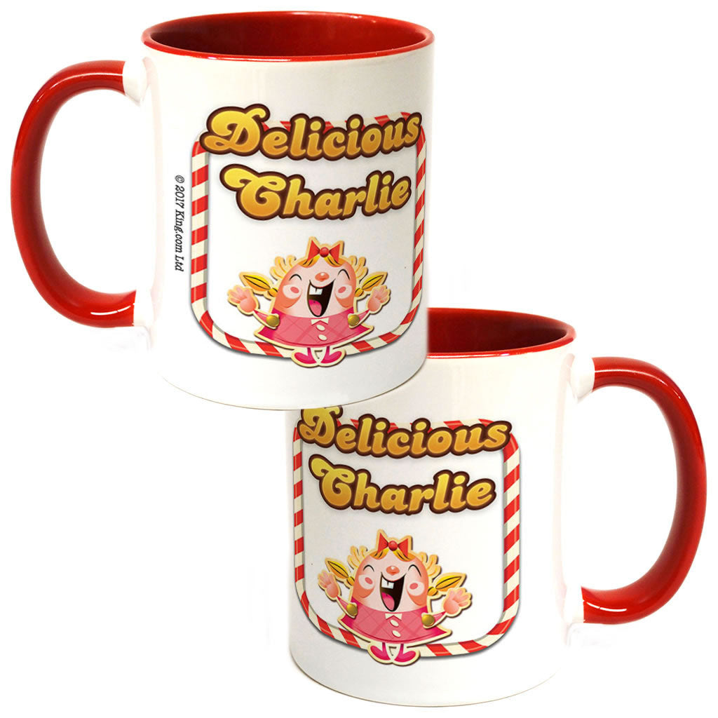 Delicious Tiffy Coloured Insert Mug