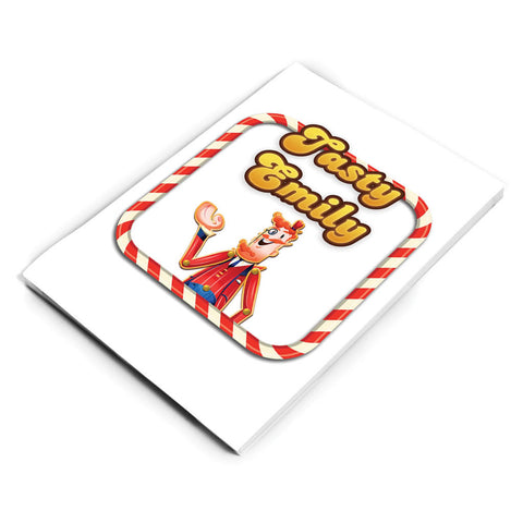 Tasty Mr Toffee Notepad