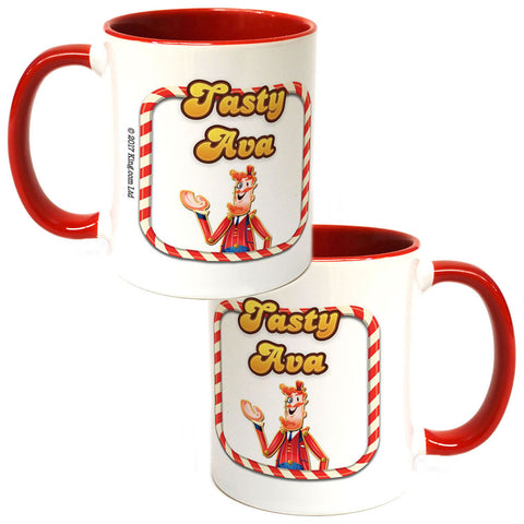Tasty Mr Toffee Coloured Insert Mug
