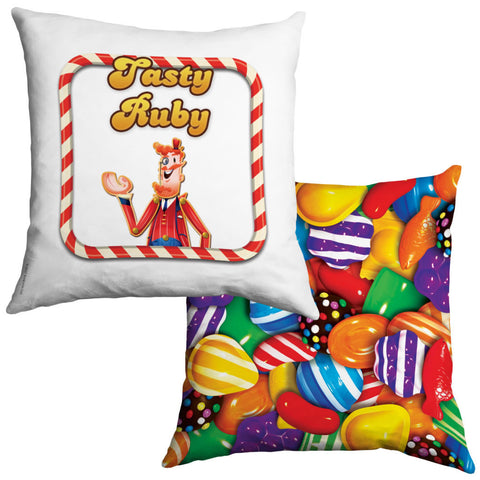 Tasty Mr Toffee Cushion