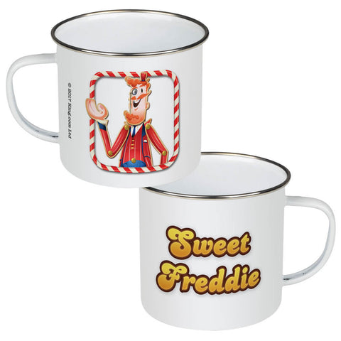 Tasty Mr Toffee Enamel Mug