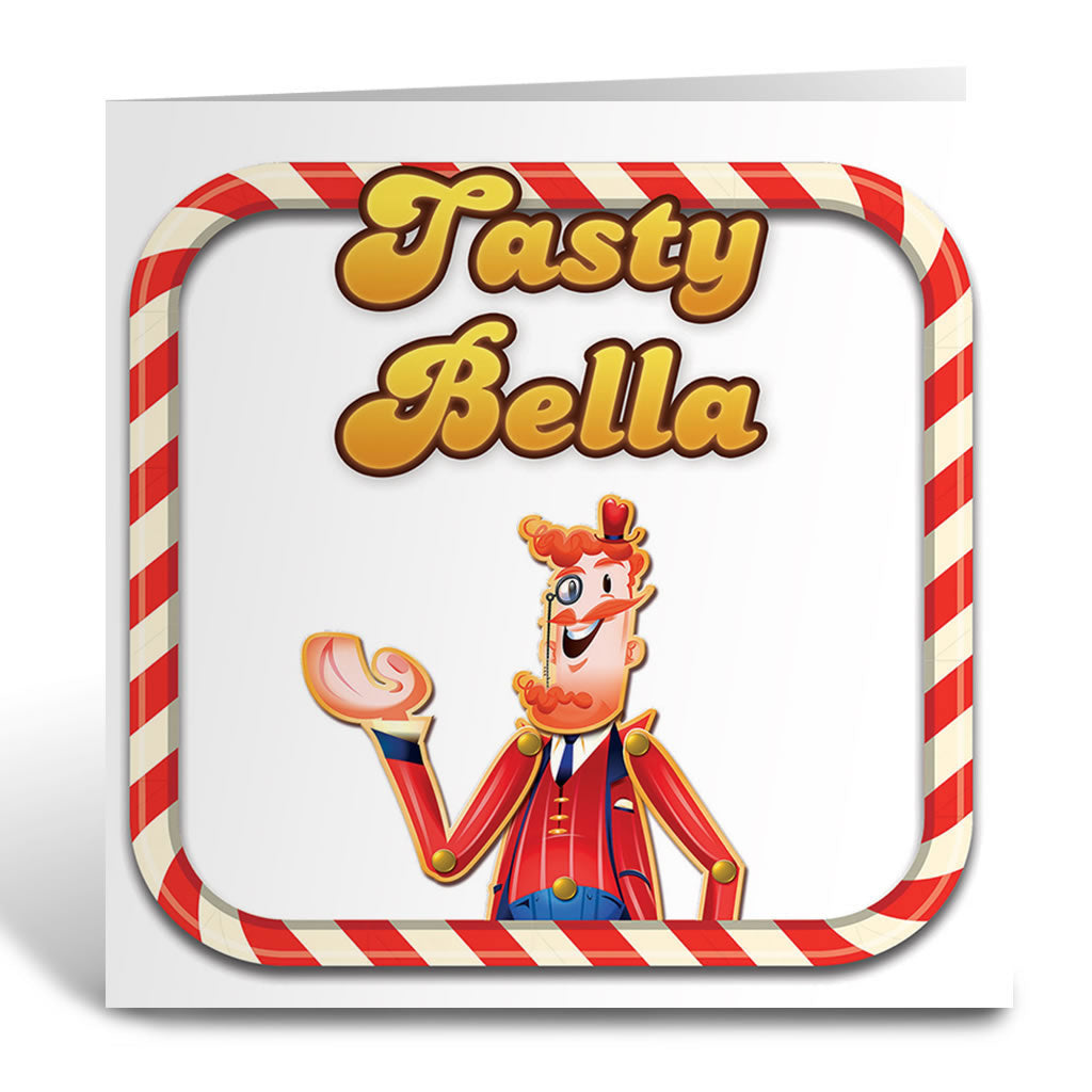 Tasty Mr Toffee Greeting Card