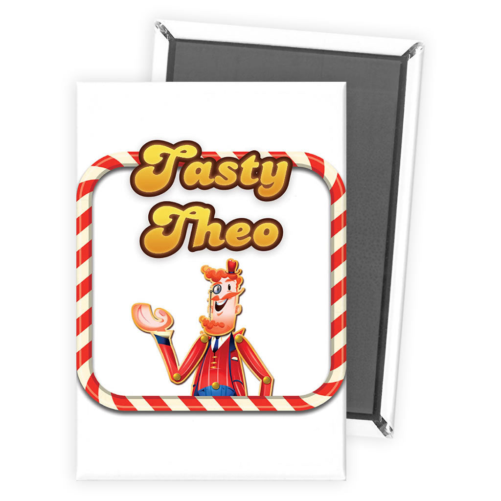 Tasty Mr Toffee Magnet