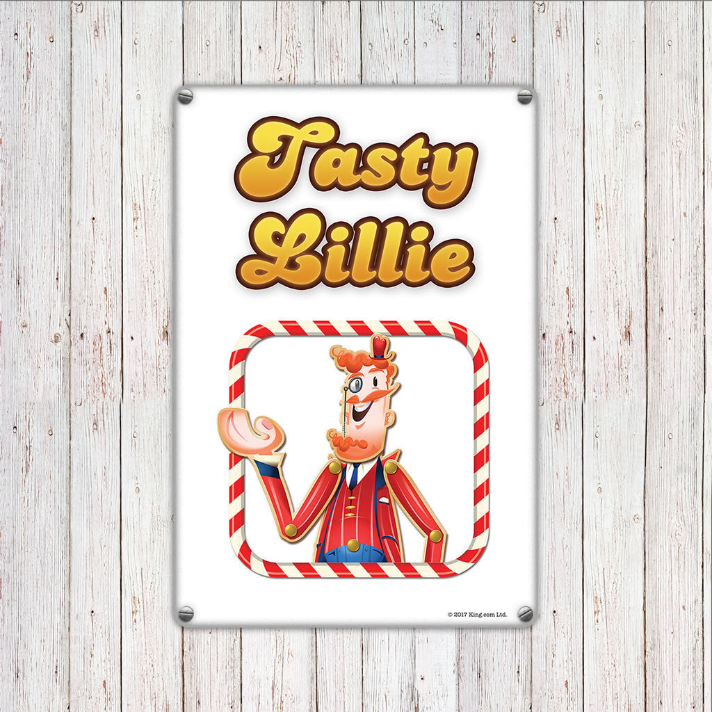 Tasty Mr Toffee Metal Sign (Lifestyle)