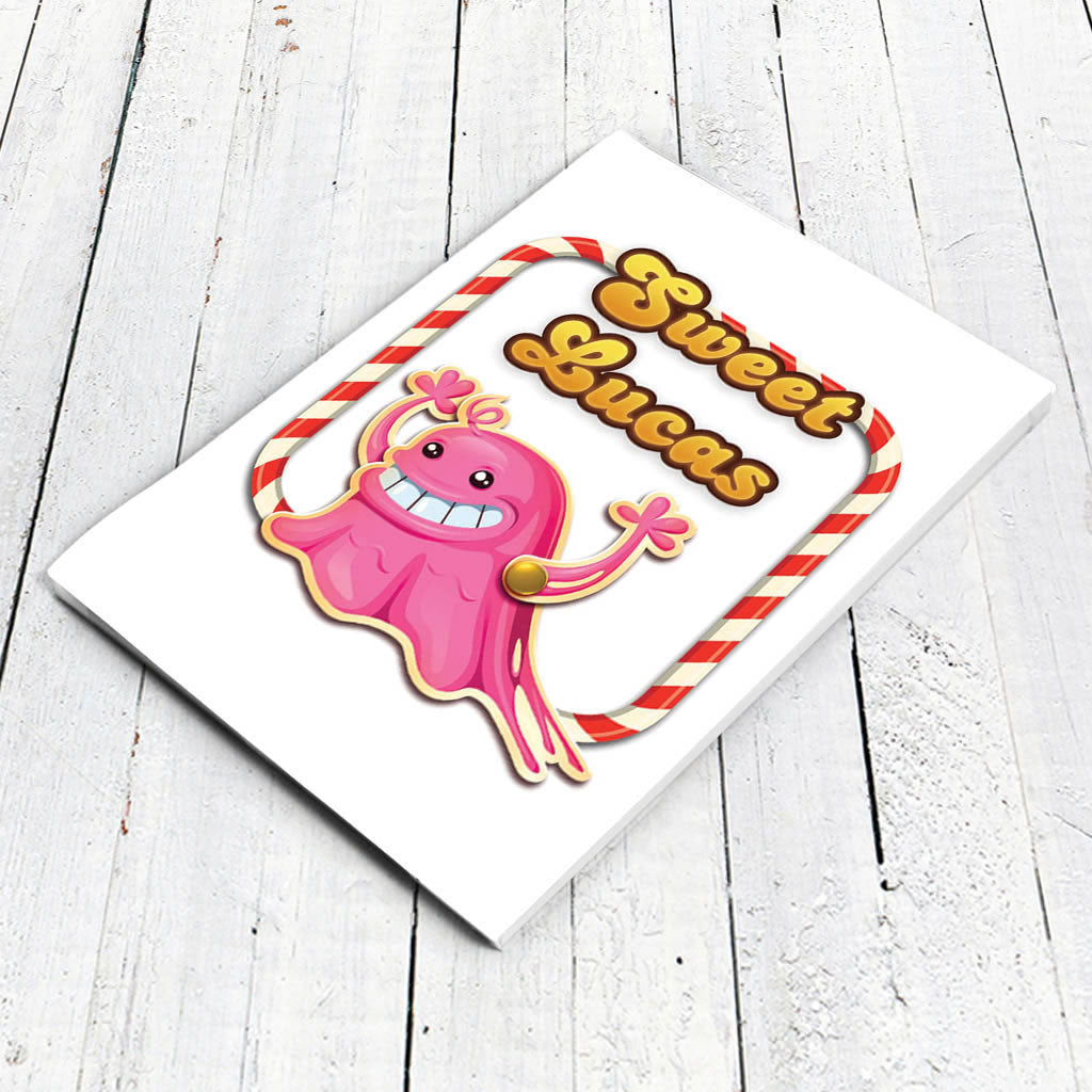 Tasty Bubblegum Troll Notepad (Lifestyle)