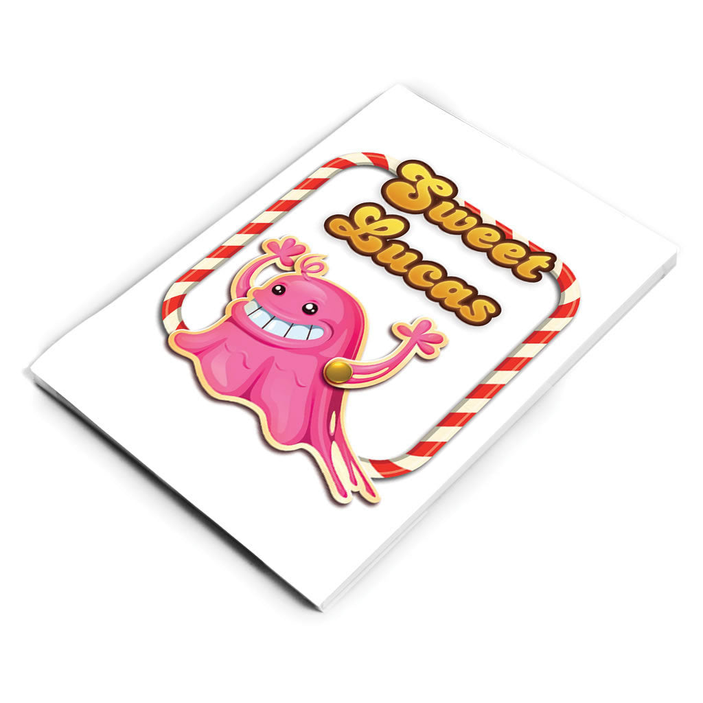 Tasty Bubblegum Troll Notepad