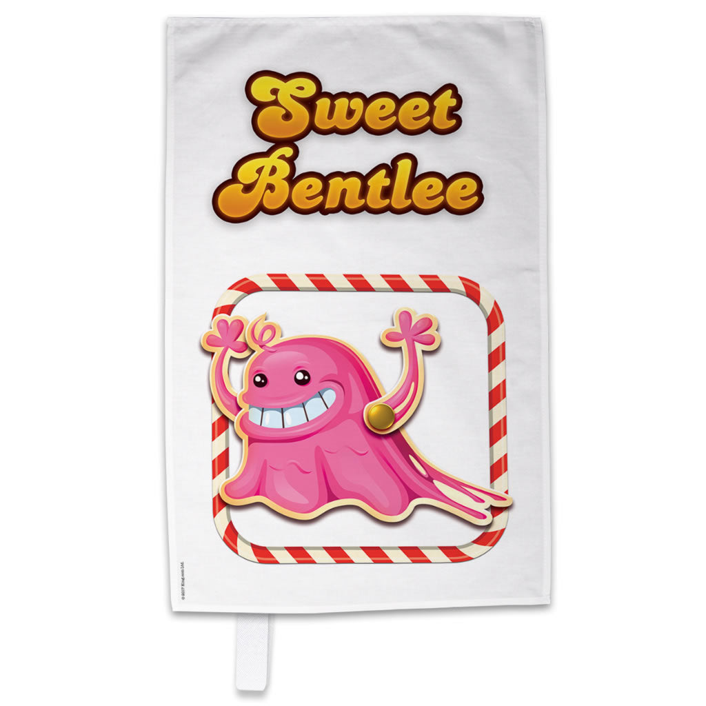 Tasty Bubblegum Troll Tea Towel