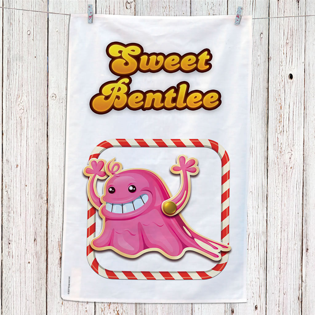 Tasty Bubblegum Troll Tea Towel (Lifestyle)