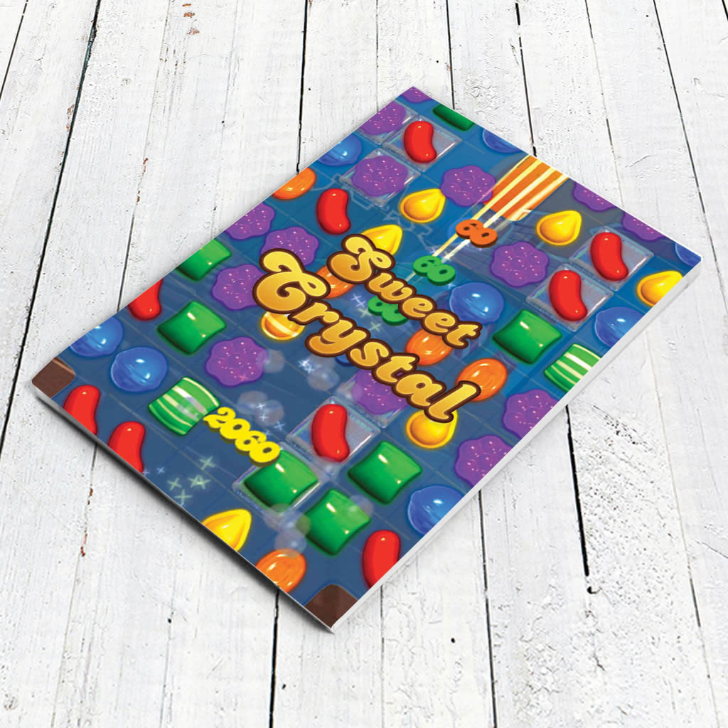 Sweet Gameboard Notepad (Lifestyle)