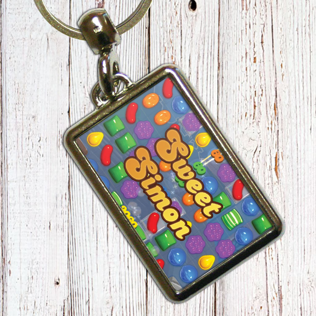 Sweet Gameboard Metal Keyring (Lifestyle)
