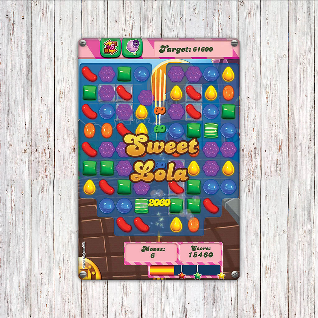 Sweet Gameboard Metal Sign (Lifestyle)