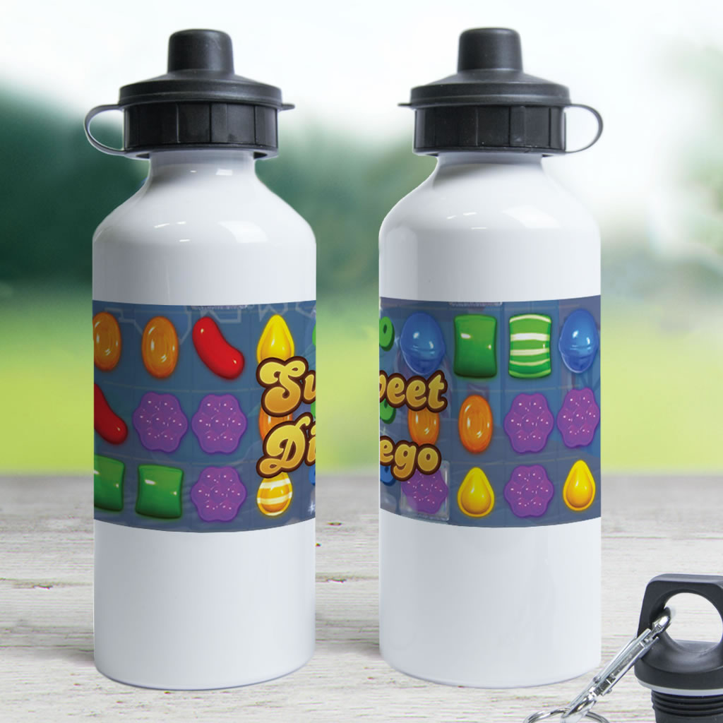 Sweet Gameboard Water Bottle (Lifestyle)