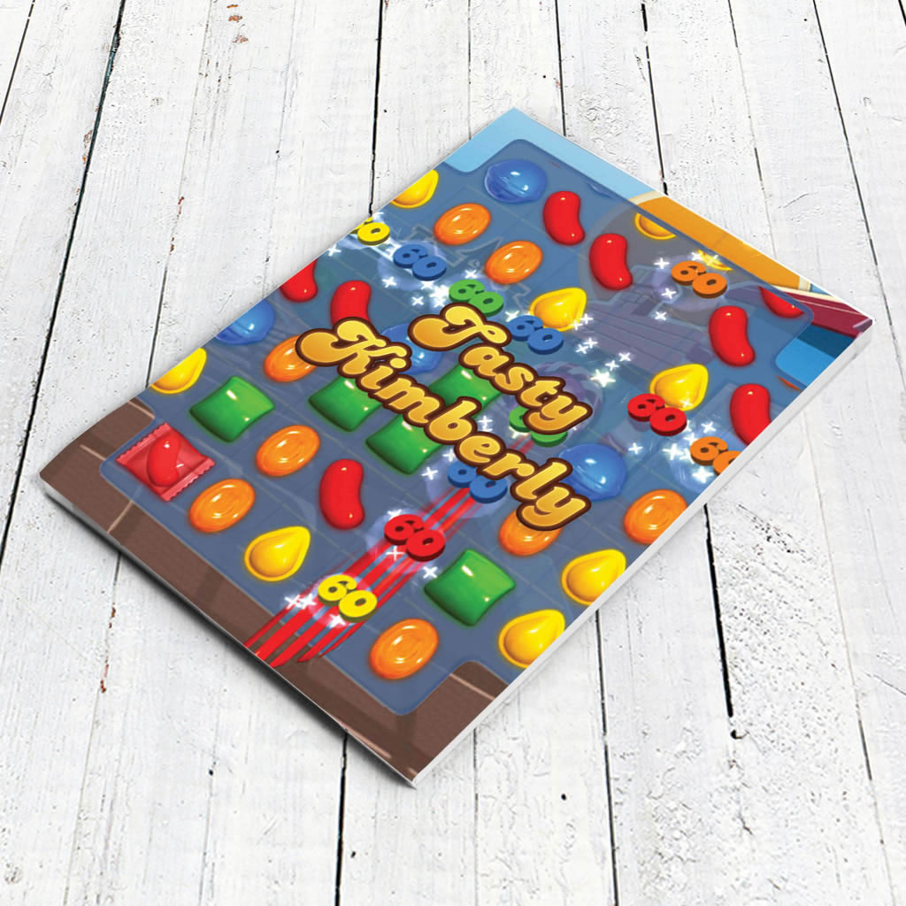 Tasty Gameboard Notepad (Lifestyle)